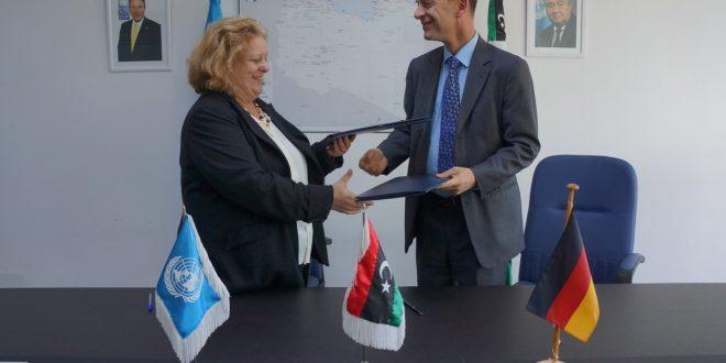 ألمانيا تقدم 1 مليون يورو لمشروع الأمم المتحدة لدعم الانتخابات في ليبيا
