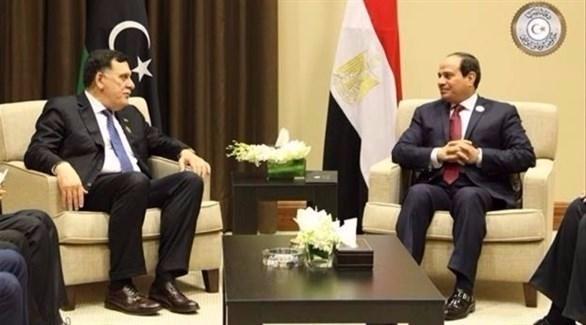 السراج يتوجه إلى القاهرة المصرية بدعوة من السيسي