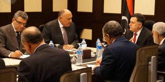 شكري يؤكد على دعم مصر لليبيا في مجلس الأمن