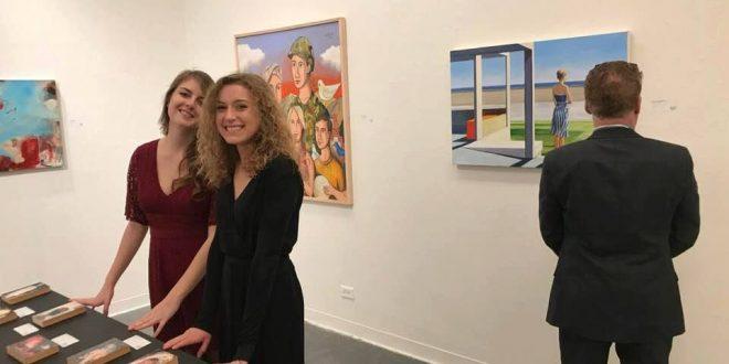 """فنان ليبي يفتتح الدورة الثانية من معرض """"فنانين من أجل السلام"""" في كاليفورنيا"""