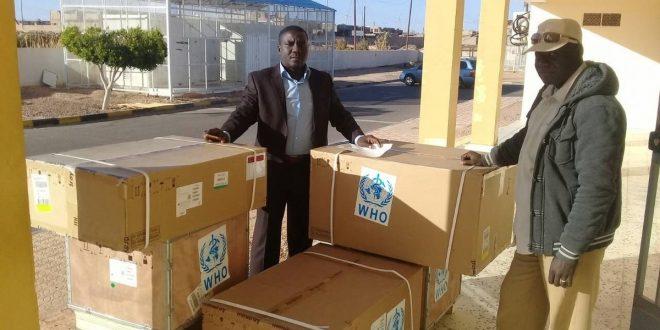 منظمة الصحة العالمية تقدم مساعدات طبية لمستشفيات الجنوب الليبي