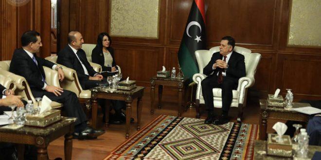 ليبيا وتركيا تتفقان على تشكيل لجنة تحقيق مشتركة بخصوص وصول سلاح لليبيا