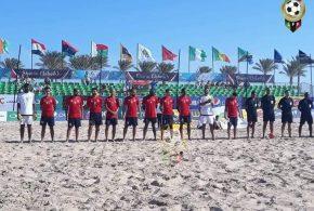 المنتخب الليبي لكرة القدم الشاطئية يخسر أمام نجيريا في البطلولة الأفريقية المؤهلة لكأس العالم
