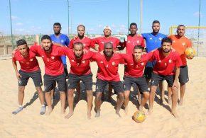 المنتخب الليبي لكرة القدم الشاطئية يغادر أمم أفريقية بخسارة مذلة أمام السنغال