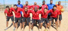 كرة القدم الشاطئية الليبية تتفوق في افتتاح مشاركتها في كأس أفريقيا بشرم الشيخ