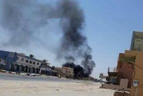 وزارة الداخلية تستغرب التصعيد جنوب طرابلس بالتزامن مع تسليم مطار طرابلس إلى قوة نظامية