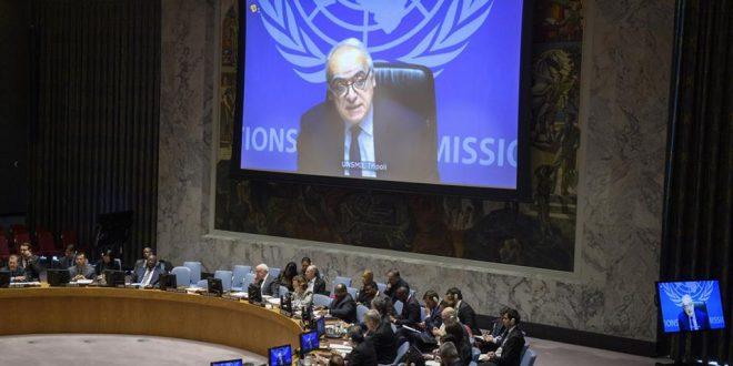 سلامة في إحاطته أمام مجلس الأمن:  حققنا مكاسب اقتصادية وأمنية هشة والمؤتمر الجامع مع الانتخابات هي طريق الخروج