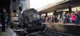 استقالة وزير النقل المصري بعد حريق محطة قطارات بالقاهرة