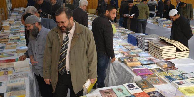 انطلاق المعرض الوطني للكتاب في دورته الثالثة بمصراتة