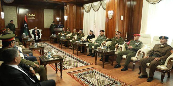 """القائد الأعلى للجيش الليبي ينصّب """"الشريف"""" رئيسا للأركان العامة و """"جحا"""" معاونا لشؤون التدريب"""