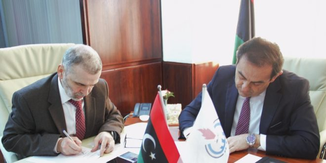 الوطنية للنفط في ليبيا تمول مشاريع تنمية مستدامة في المناطق المجاورة لبعض مواقعها