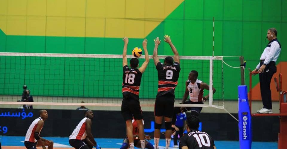 الأندية الليبية تحقق العلامة الكاملة في ثالث أيام البطولة الأفريقية للكرة الطائرة بمصر