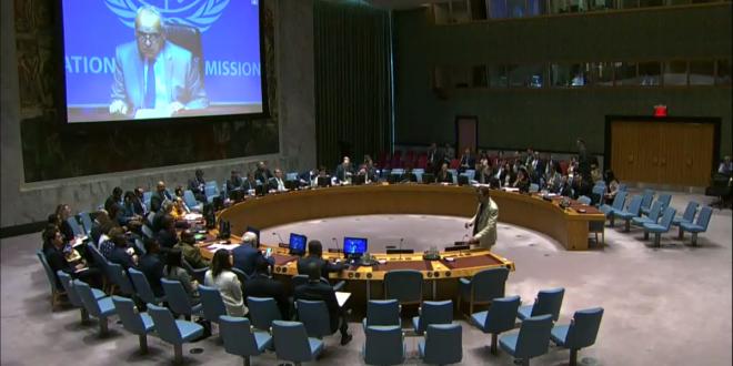 """نص إحاطة المبعوث الأممي إلى ليبيا """"غسان سلامة"""" حول ليبيا أمام مجلس الأمن  الاثنين (29 يوليو 2019م)"""