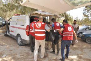 الهلال الأحمر الليبي يواكب الأحداث جنوب طرابلس ويقدم الدعم النفسي والاجتماعي للأطفال المتضررين من الحرب