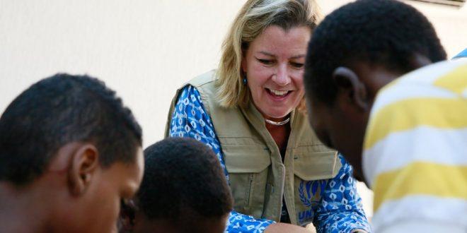 نائبة المفوض السامي للأمم المتحدة لشؤون اللاجئين تدعو للمزيد من الدعم، وسط تدهور الأوضاع الإنسانية في ليبيا