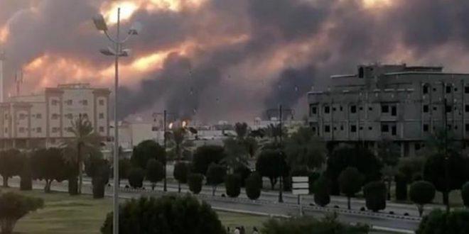 إيران تنفي اتهام أمريكا لها بمهاجمة منشأتي أرامكو وتبدي استعدادها للحرب