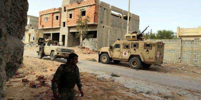 *ليبيا تحث الولايات المتحدة على المساعدة في إنهاء الصراع مع نمو الدور الروسي
