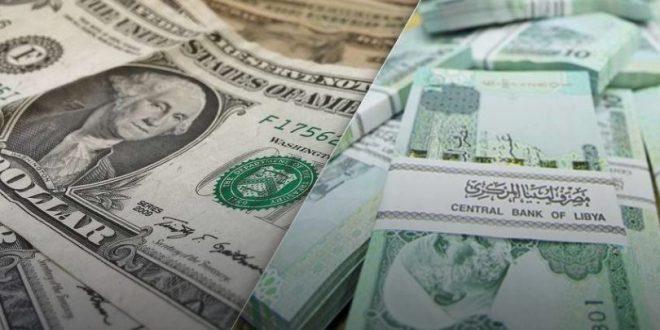 المركزي الليبي يبيع مبلغا يتجاوز مليار دولار في يناير ويحقق إيرادات تزيد عن مليارين وثلاثمائة مليون دينار