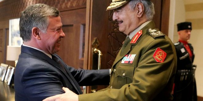 نواب أردنيون يسائلون الحكومة عن دعمها لحفتر بعد تقرير لـ «عربي بوست».. ومصدر مطلع يشرح سبب وجود مدرعات الجيش الأردني بليبيا