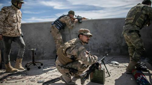 *الحكومة الليبية تتهم فاغنر الروسية بنقل مقاتلين سوريين إلى بنغازي