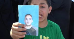 متظاهرون في ترهونة يطالبون بالكشف عن مصير أبنائهم المغيبين قسرا