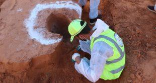 هيئة البحث عن المفقودين تنتشل ست جثث أخرى من المقابر الجماعي بترهونة