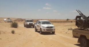 """""""شراطة"""": حرس الحدود باشر في تفعيل النقاط الحدودية بين ليبيا وتونس"""