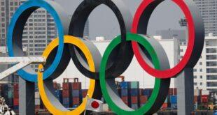 الحلقات الأولمبية تغادر خليج طوكيو مؤقتا.. للصيانة