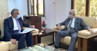 ليبيا وإيطاليا يبحثان ملف الهجرة وإمكانية إنشاء الطريق السريع بين رأس اجدير