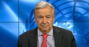 غوتيرش: وقف إطلاق النار في ليبيا خطوة أساسية نحو استقرار البلاد