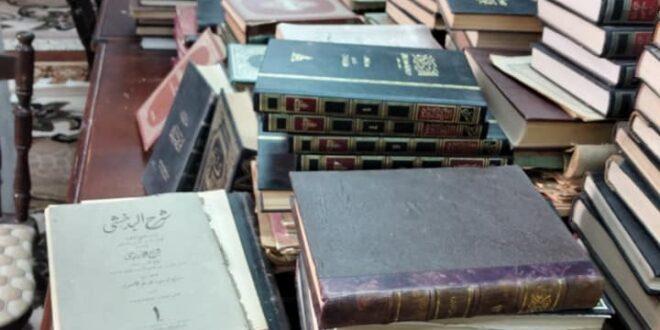 """عائلة """"الجهاني"""" بمصراتة تهدي مكتبتها المنزلية إلى مكتبة زروق الأهلية"""