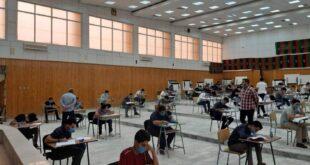الناس تتابع انطلاقة الامتحانات النهائية لطلبة الدبلوم بالمعاهد المتوسطة ببلدية مصراتة