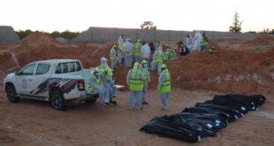 البحث عن المفقودين تنشر إحصائية مفصلة للجثث التي تم انتشالها من ترهونة وجنوب طرابلس