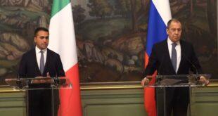 دي مايو: توافق مع روسيا على أهمية تعزيز التعاون الثنائي بشأن أزمة ليبيا