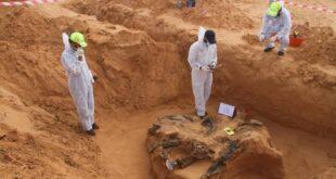 (12) جثة مجهولة بترهونة تقفز بالرقم الإجمالي إلى 220 في 21 مقبرة جماعية