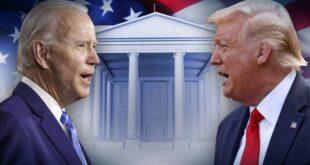 """مناظرة ترامب وبايدن النهائية ستبرز زر """"كتم الصوت"""" بعد الصدام الأول الفوضوي"""