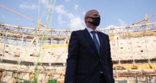 رئيس الفيفا يؤكد مشاركة 22 منتخبا وطنيا في مونديال قطر 2021
