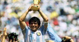 """وفاة نجم كرة القدم العالمي """"مارادونا"""" بسكتة قلبية"""