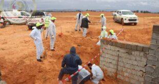 البحث عن المفقودين: انتشال ثلاث جثث من المقبرة الجماعية 27 بترهونة