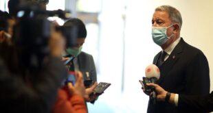 """وزير الدفاع التركي: عملية """"إيريني"""" ولدت مشوهة منذ انطلاقها"""