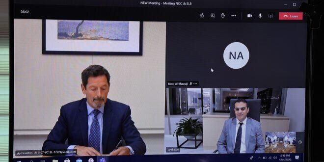 شلمبرجير تناقش مع مؤسسة النفط الليبية صيانة الآبار المقفلة لإعادتها للإنتاج