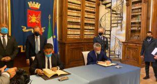 النمروش: وقعنا اتفاقية تعاون عسكري مع إيطاليا يشمل مختلف مجالات الدفاع والمناورات المشتركة