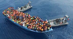 تقرير ميغرانتس: 1 من كل 140 مهاجراً يصل إلى أوروبا من ليبيا