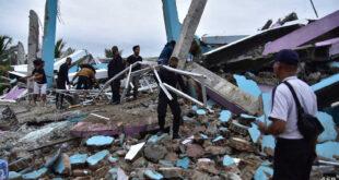ارتفاع حصيلة ضحايا زلزال إندونيسيا وتخوف من تسونامي