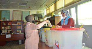 أربع بلديات تنجز استحقاقها الانتخابي بمشاركة في التصويت بلغت في مجملها (35%)