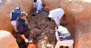 ليبيا. الكشف عن عشر جثث مجهولة الهوية بمقبرة جماعية جنوب ترهونة