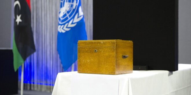 المنفي رئيسا للمجلس الرئاسي ودبيبة رئيسا للحكومة وفق مخرجات ملتقى الحوار السياسي بجنيف