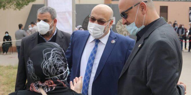في ليبيا.. انطلاق الحملة الوطنية للتطعيم ضد وباء كورونا