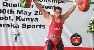 الليبي أبوزريبة يحصد الذهب إفريقيا.. ويتأهل لأولمبياد طوكيو