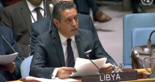 ليبيا تشارك المجموعة العربية بالأمم المتحدة في دعم القضية الفلسطينية.